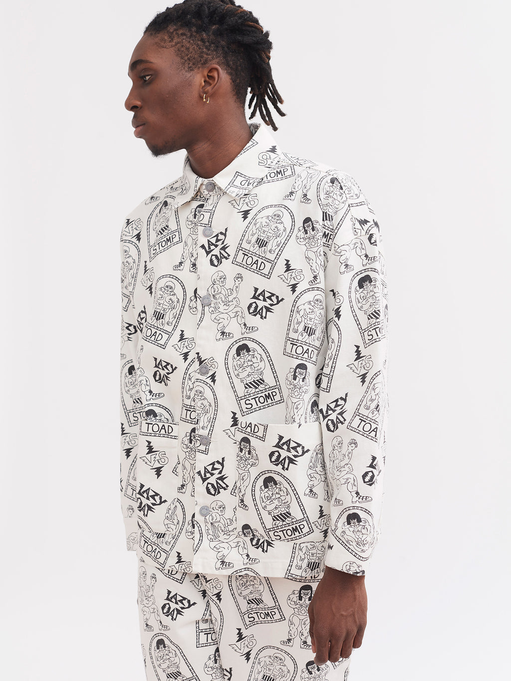 Lazy Oaf Fighting Time Chore Jacket