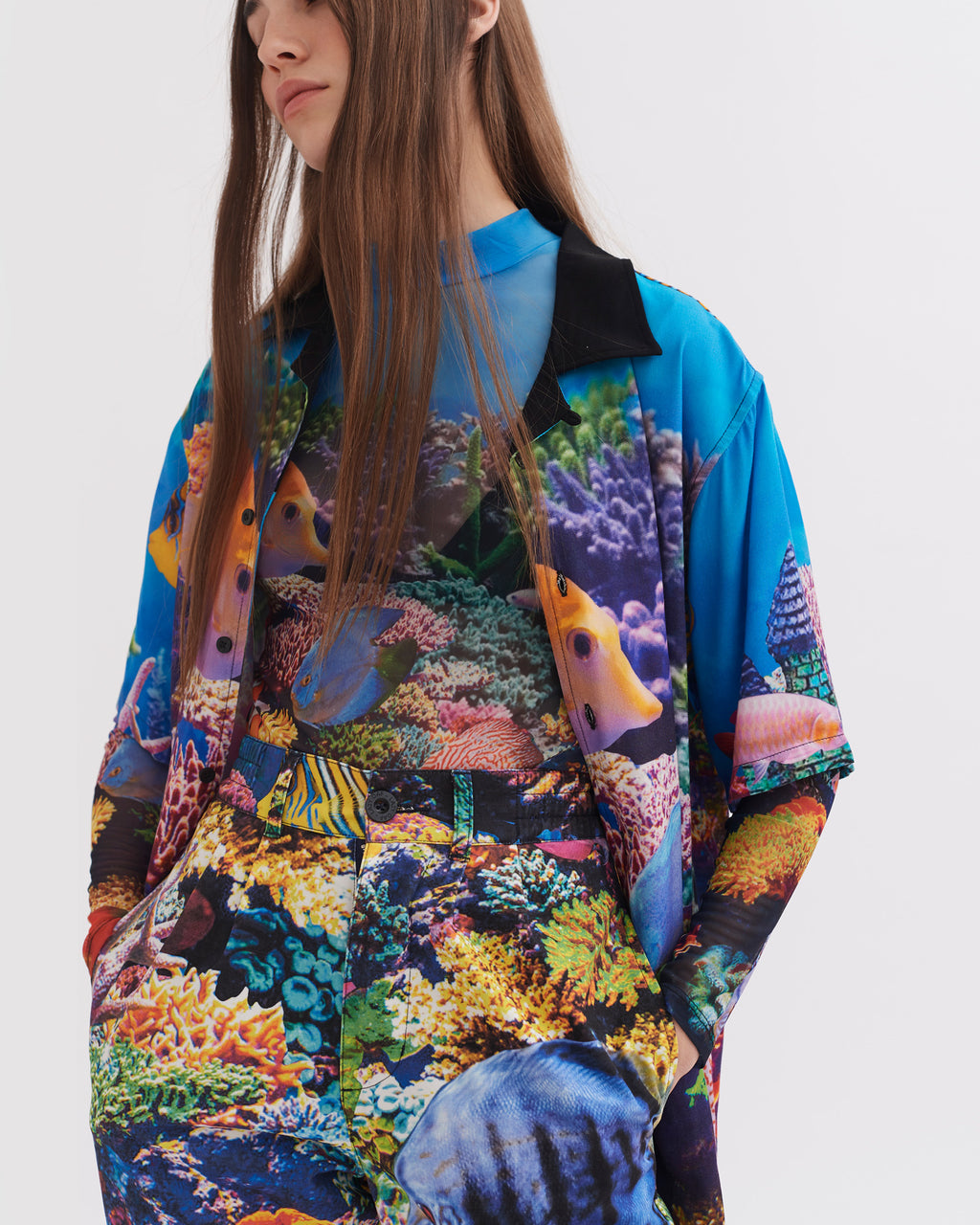 Lazy Oaf Under The Sea Bowling Shirt