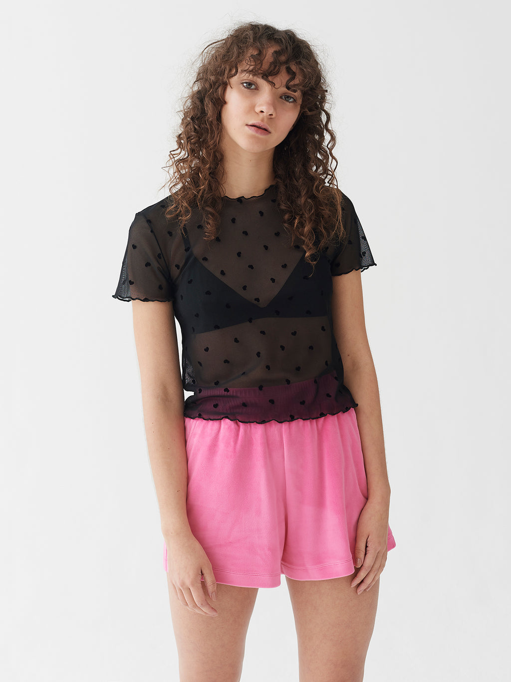 Lazy Oaf Flock Off Sheer Tee