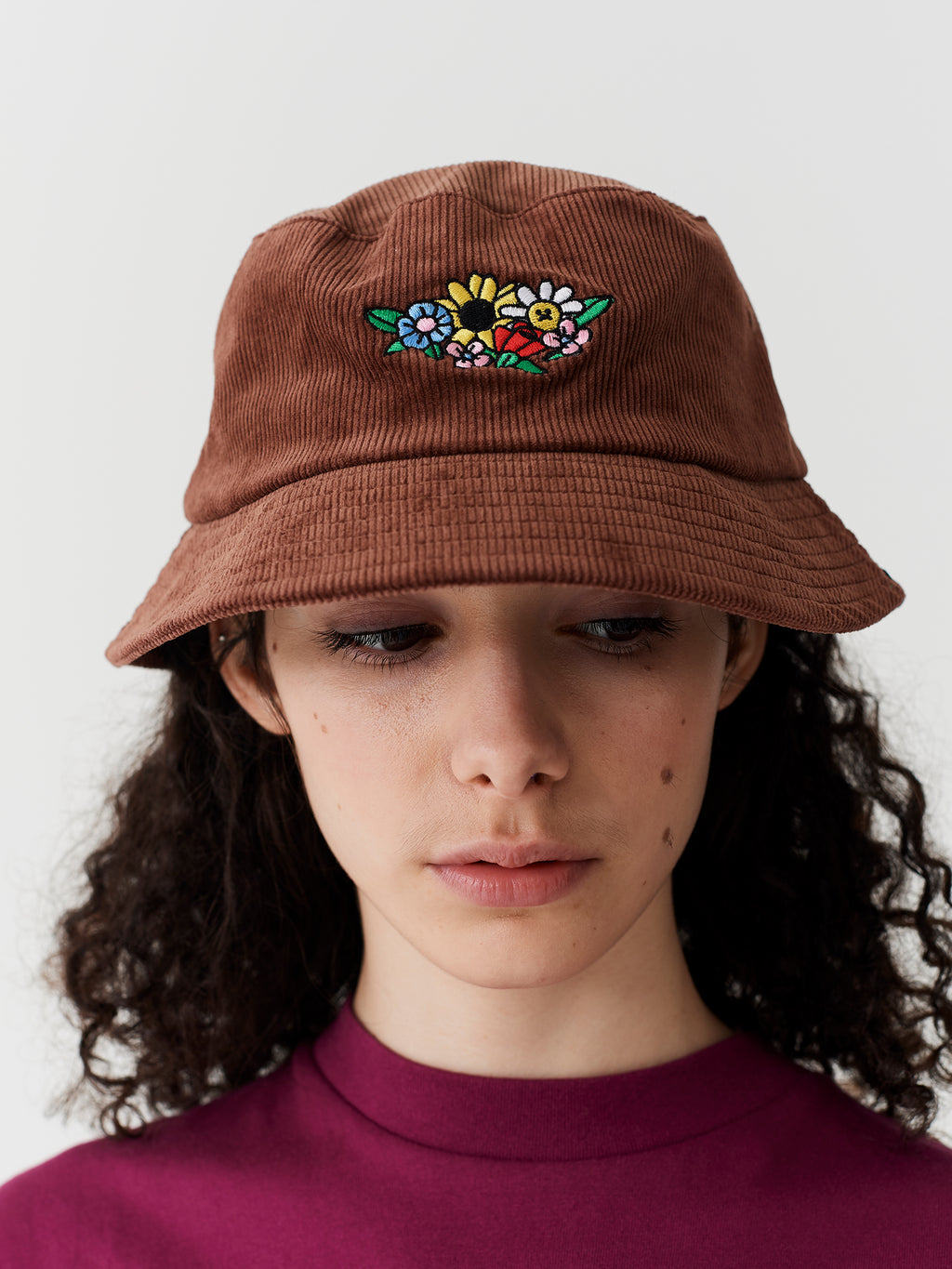 Lazy Oaf Flower Bunch Corduroy Hat