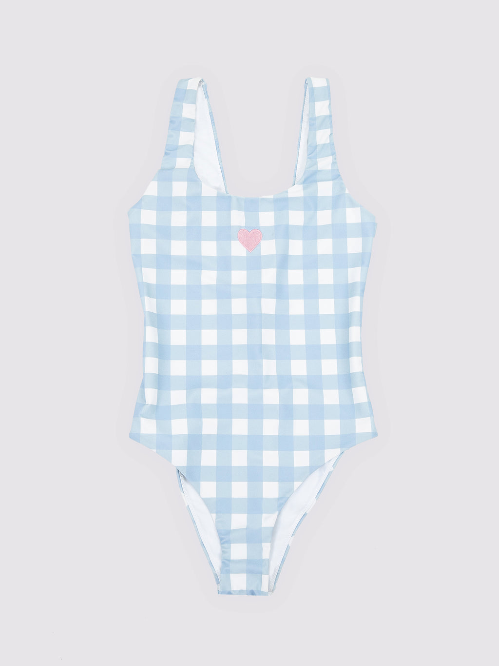 Lazy Oaf Gingham Lace Up Swimsuit