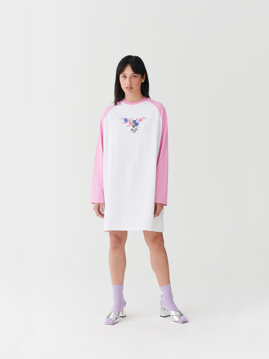 Lazy Oaf Good Things Baseball Tee