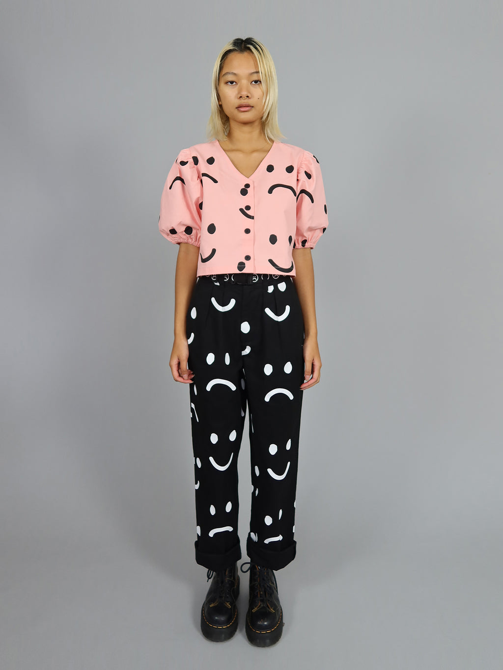 Lazy Oaf Happy Sad Unisex Pants