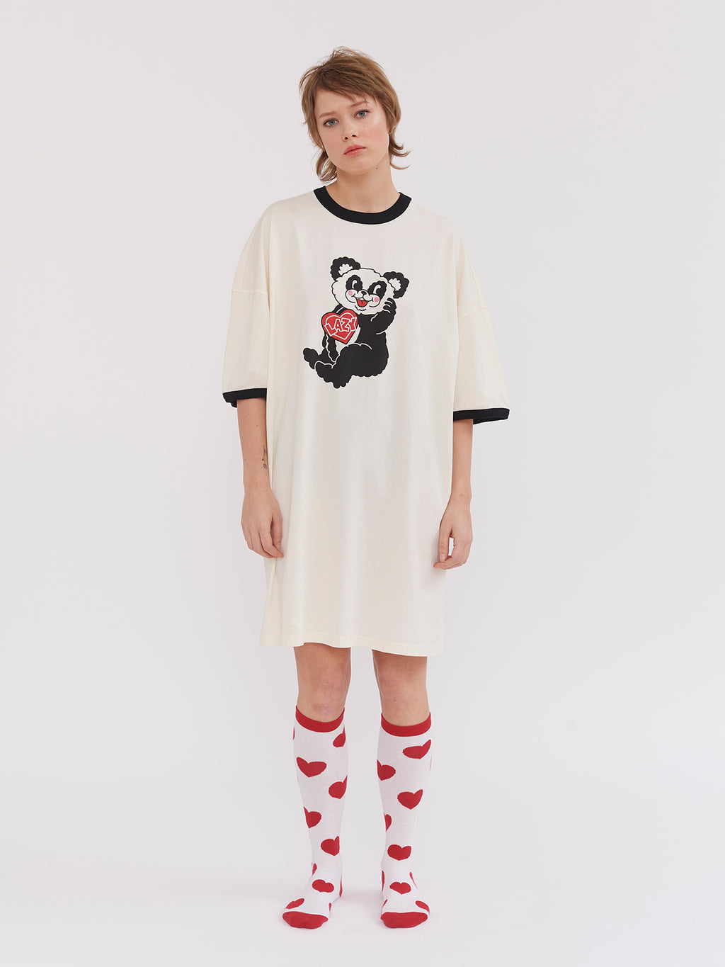 Lazy Oaf Happy Panda Sleep Tee