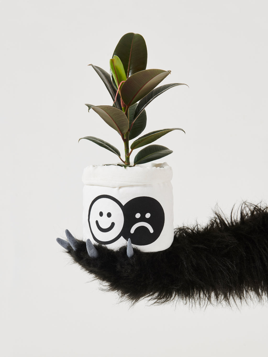 Lazy Oaf Happy Sad Plant Pot
