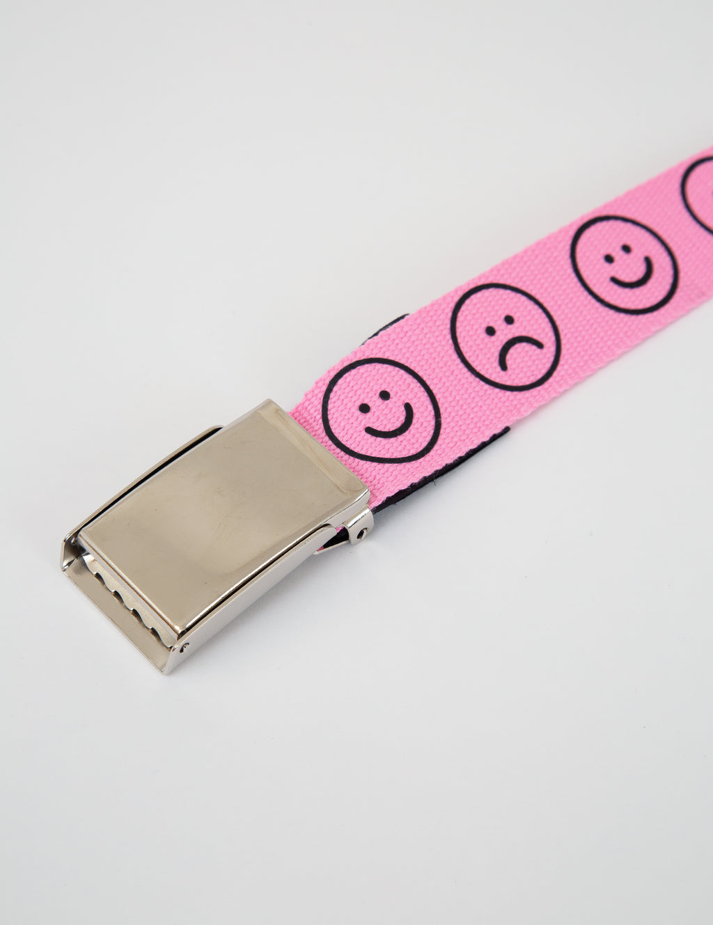 Lazy Oaf Pink Happy Sad Belt
