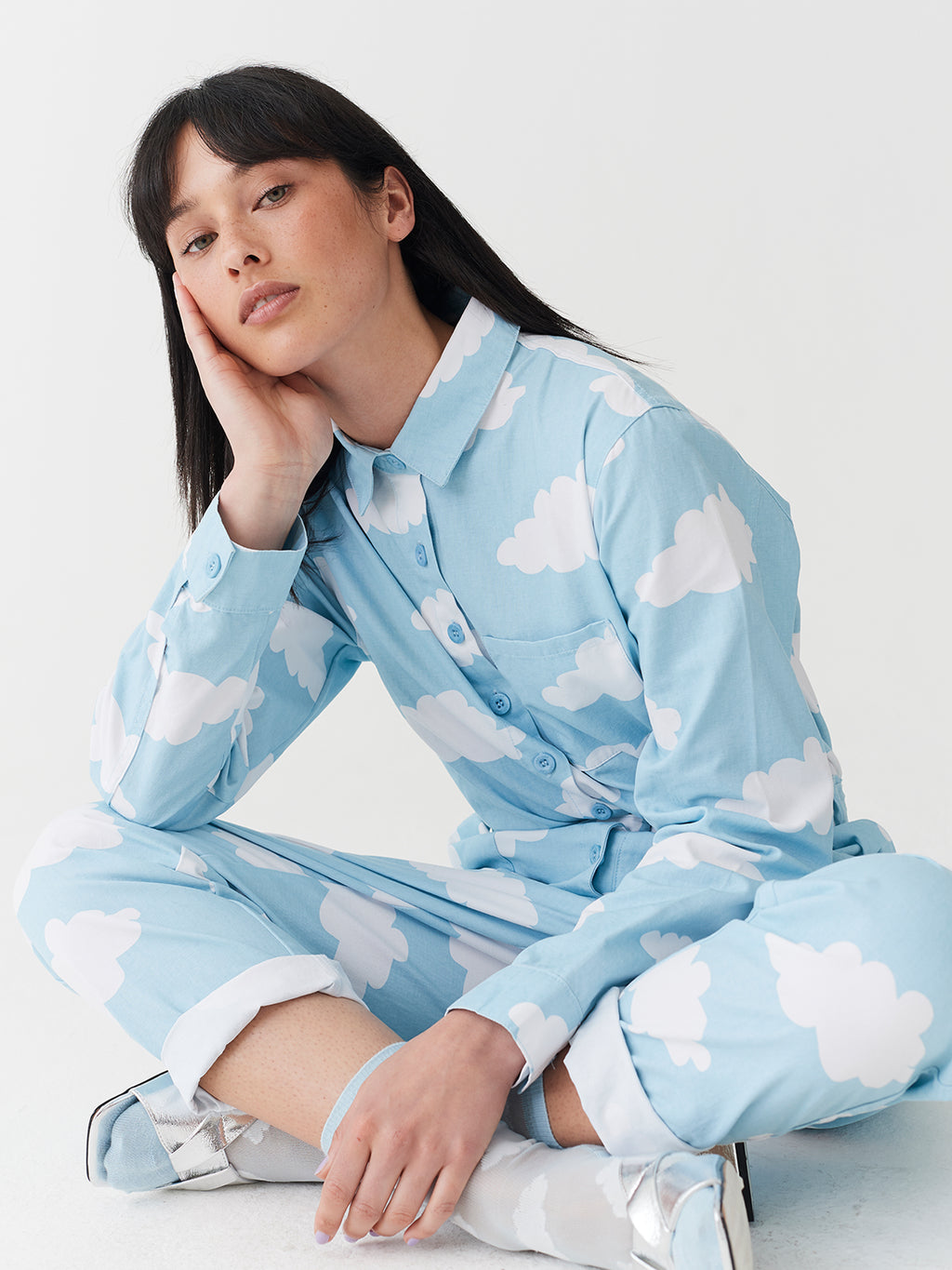 Lazy Oaf Head In The Clouds Boiler Suit