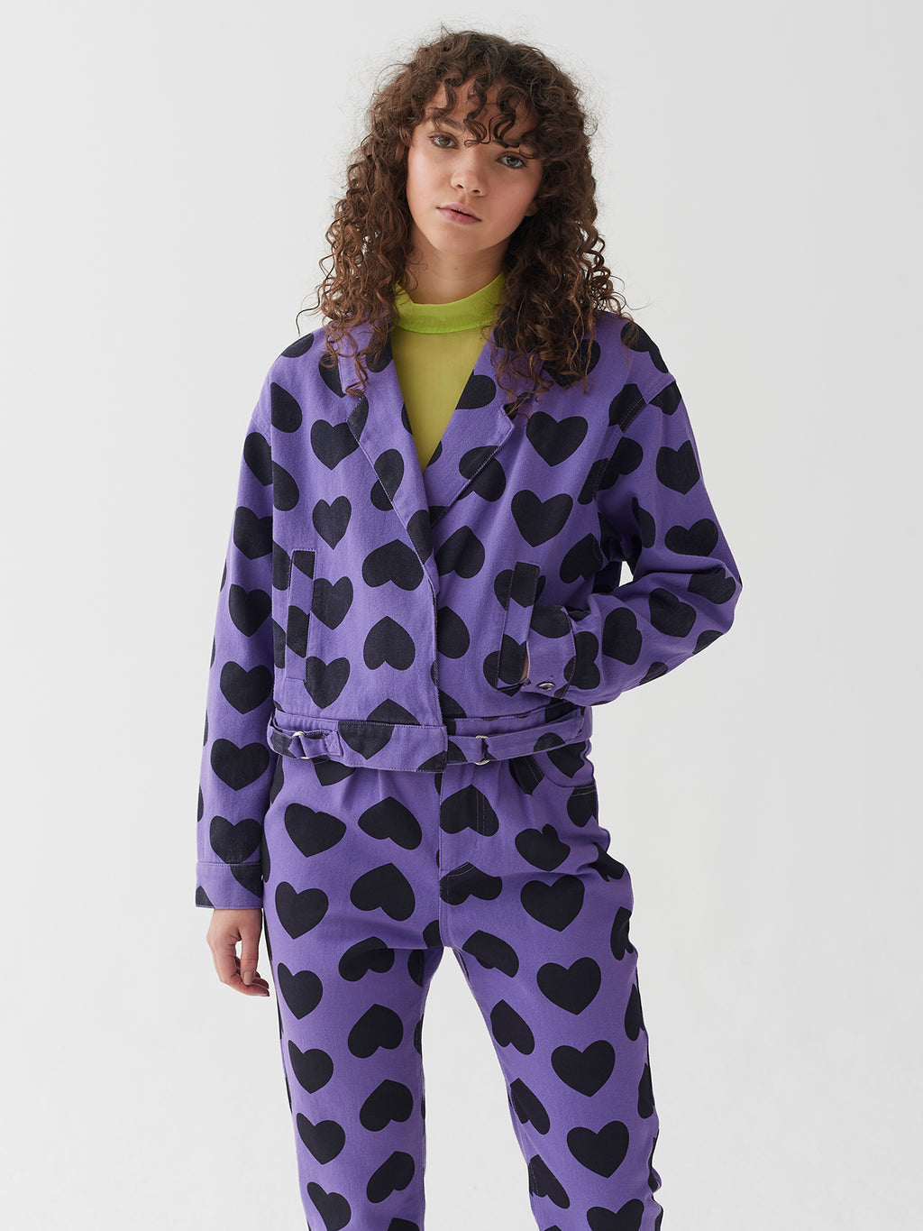 Lazy Oaf Heart Burn 80's Jacket
