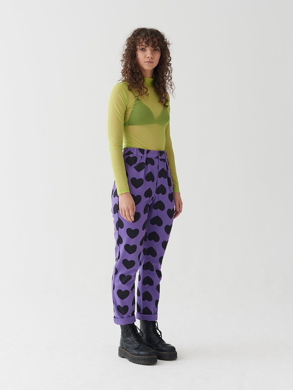 Lazy Oaf Heart Burn Jeans