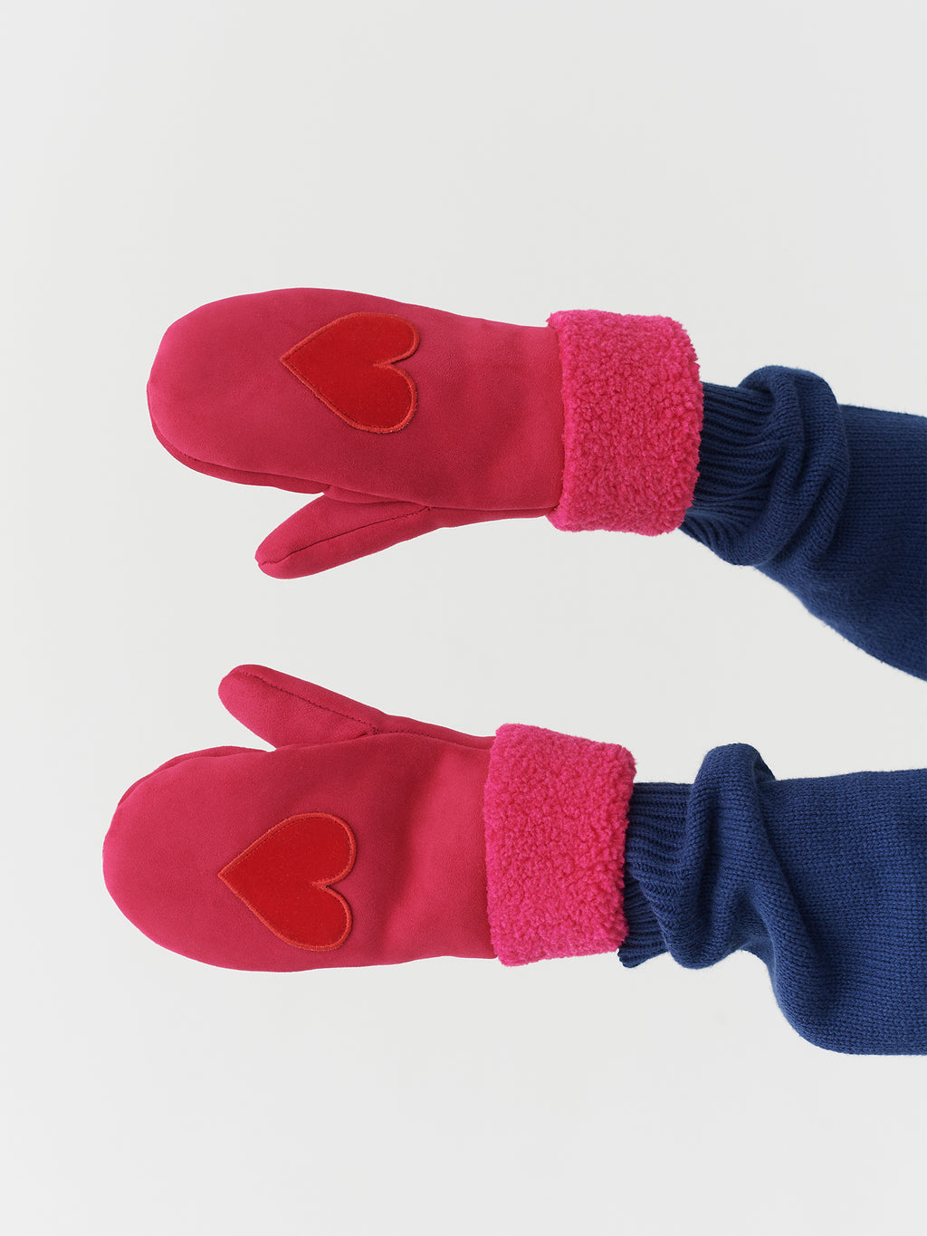 Lazy Oaf Heart On My Sleeve Mittens
