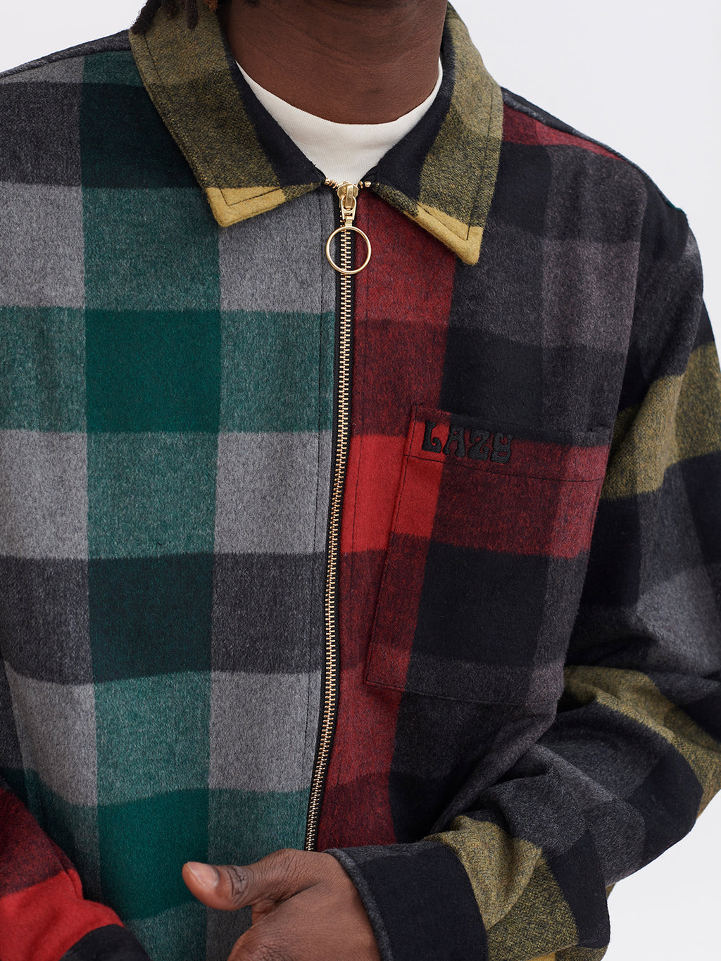 Lazy Oaf Home Grown Check Jacket