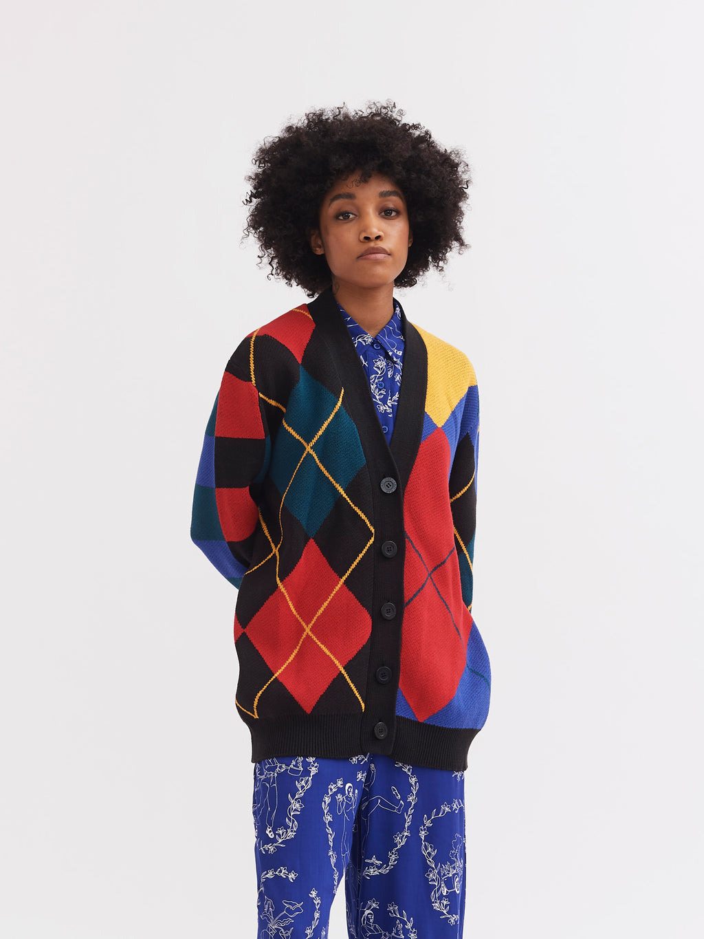 Lazy Oaf Knit Together Cardigan