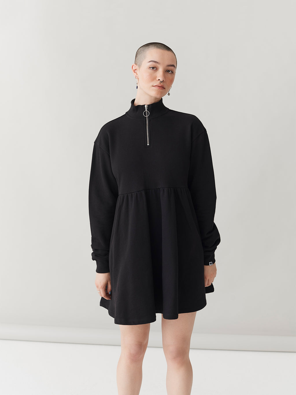 LO Black Sally Sweater Dress