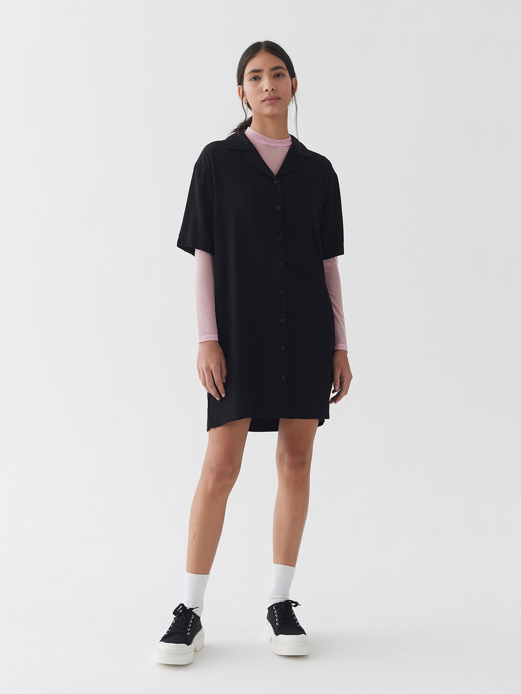 LO Bowling Shirt Dress
