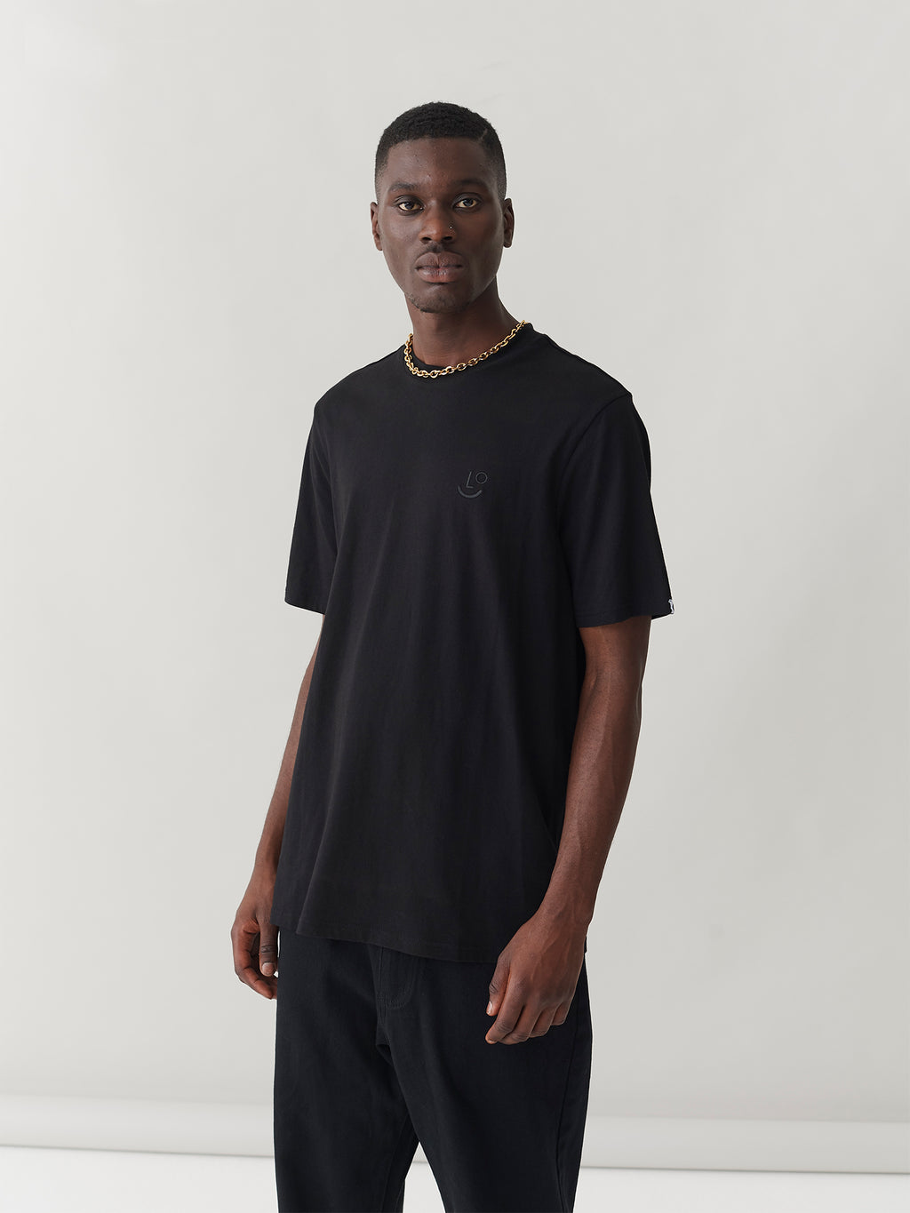 LO Boy T-Shirt - Black