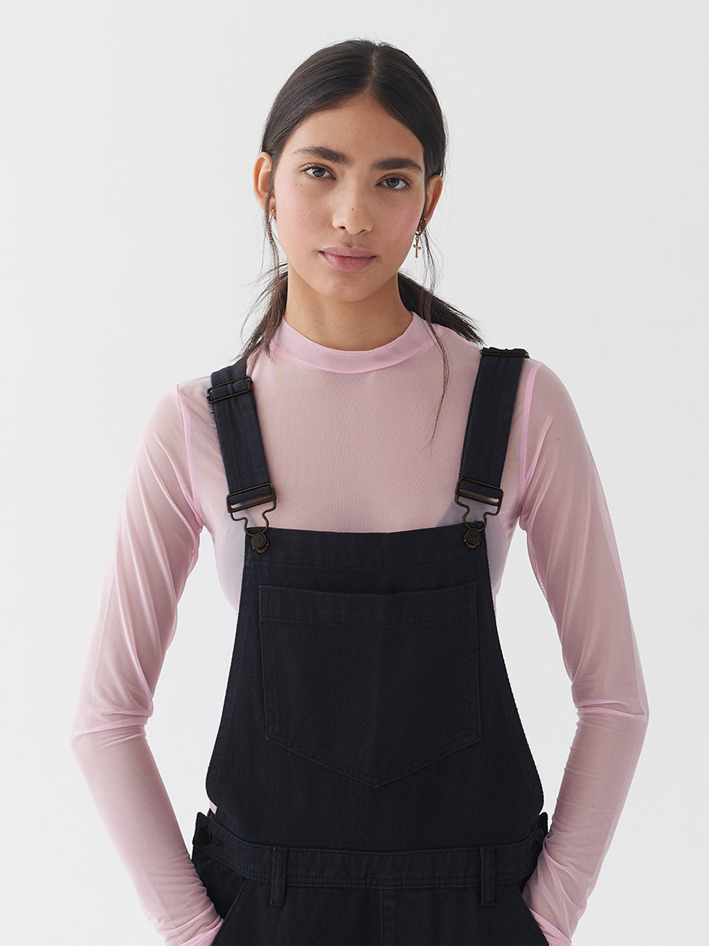 LO Black Dungarees