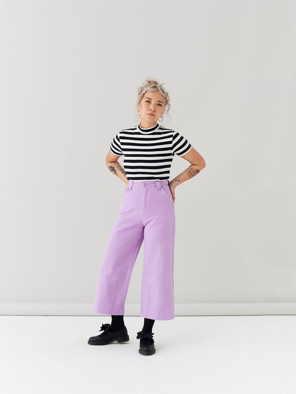 LO Work Pants - Lilac