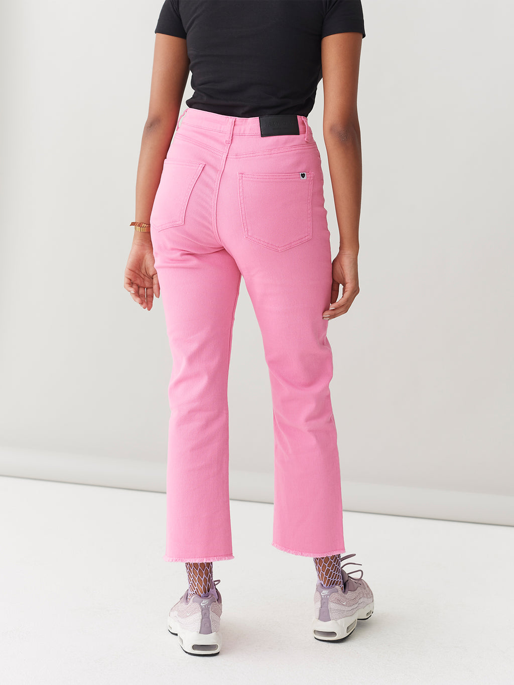 LO Pink Straight Leg Jeans