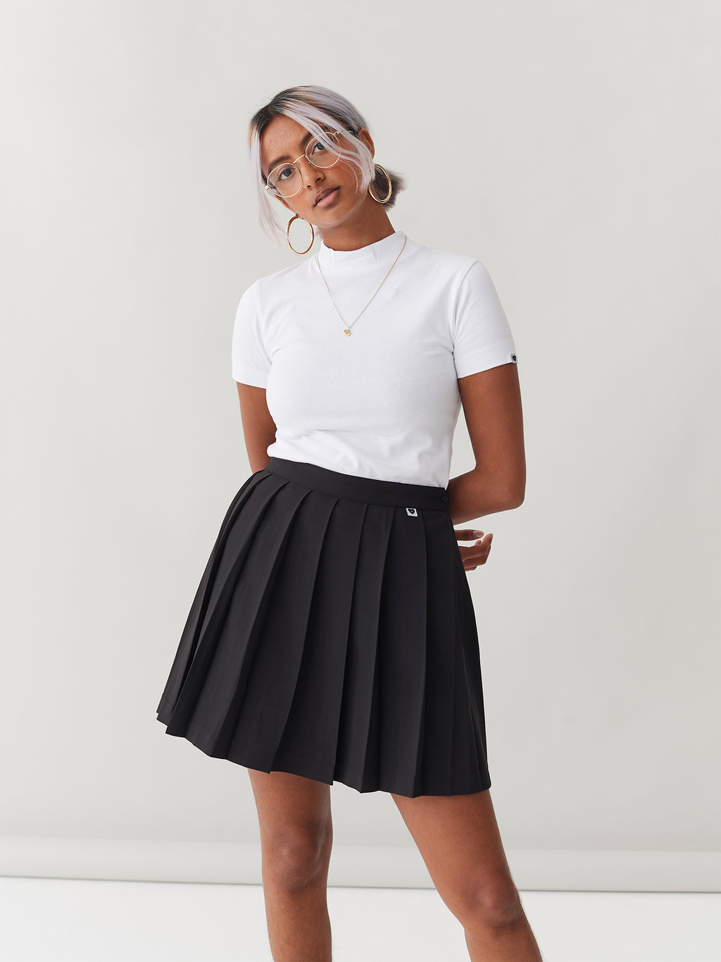 LO Pleated Skirt