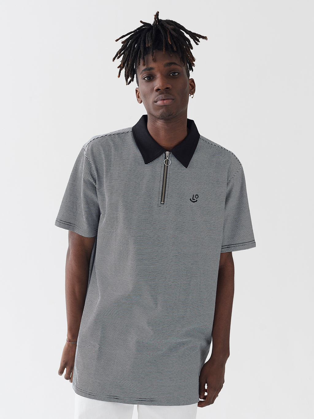 LO Quarter Zip Polo Shirt