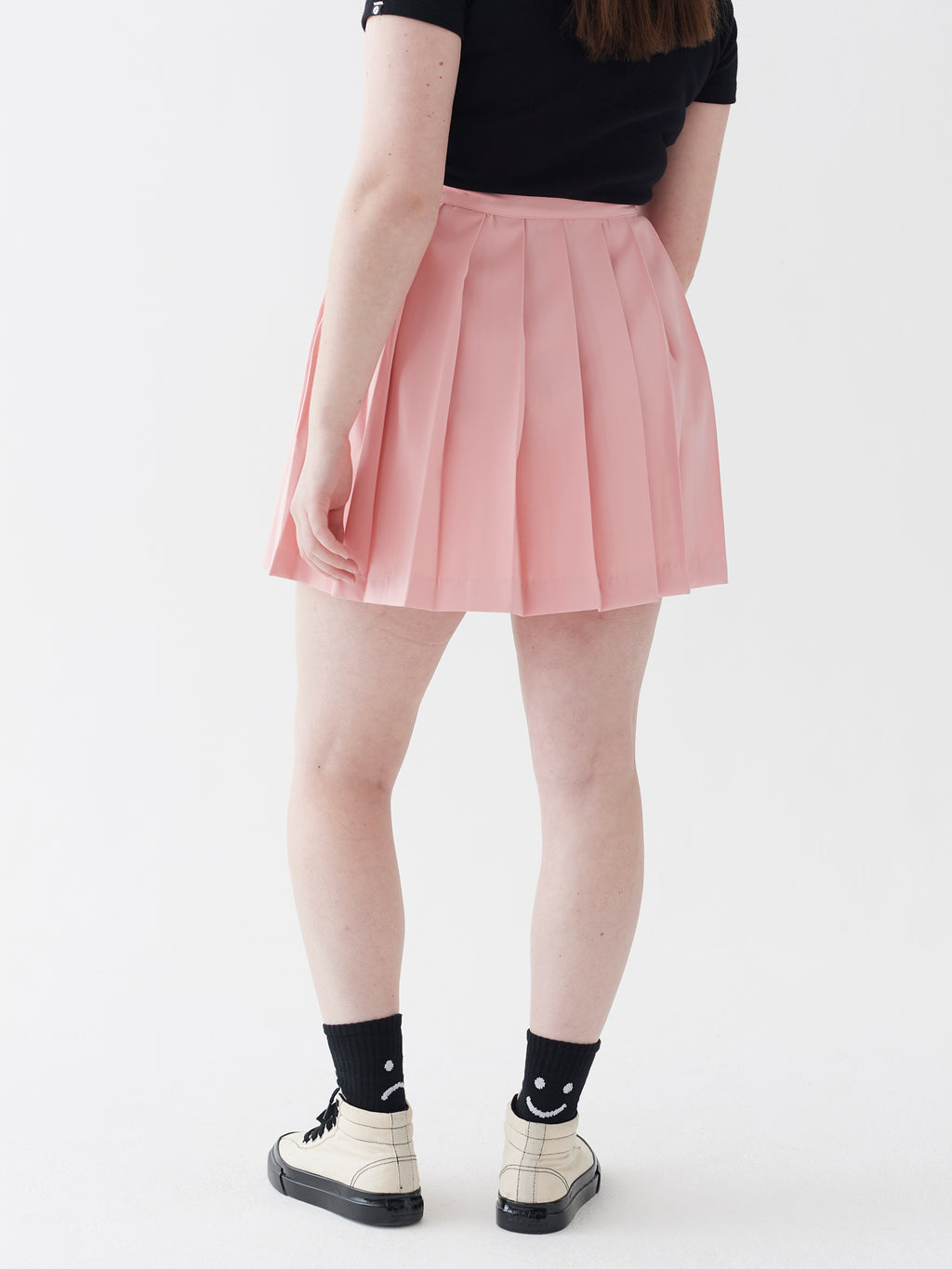 LO Pleated Skirt - Pink