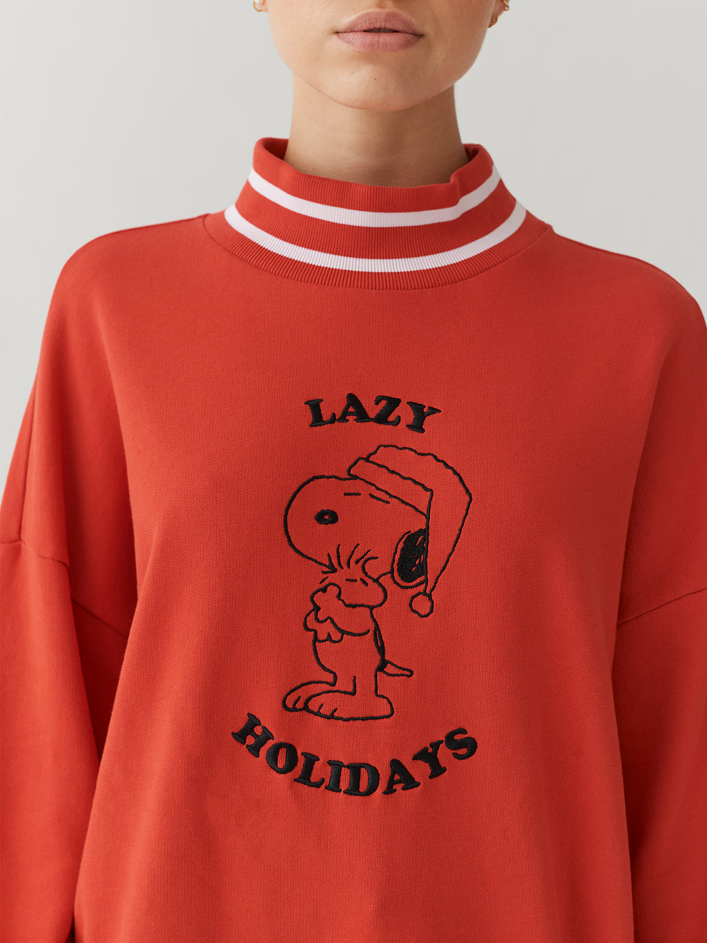 Lazy Oaf x Peanuts Lazy Holiday Sweatshirt