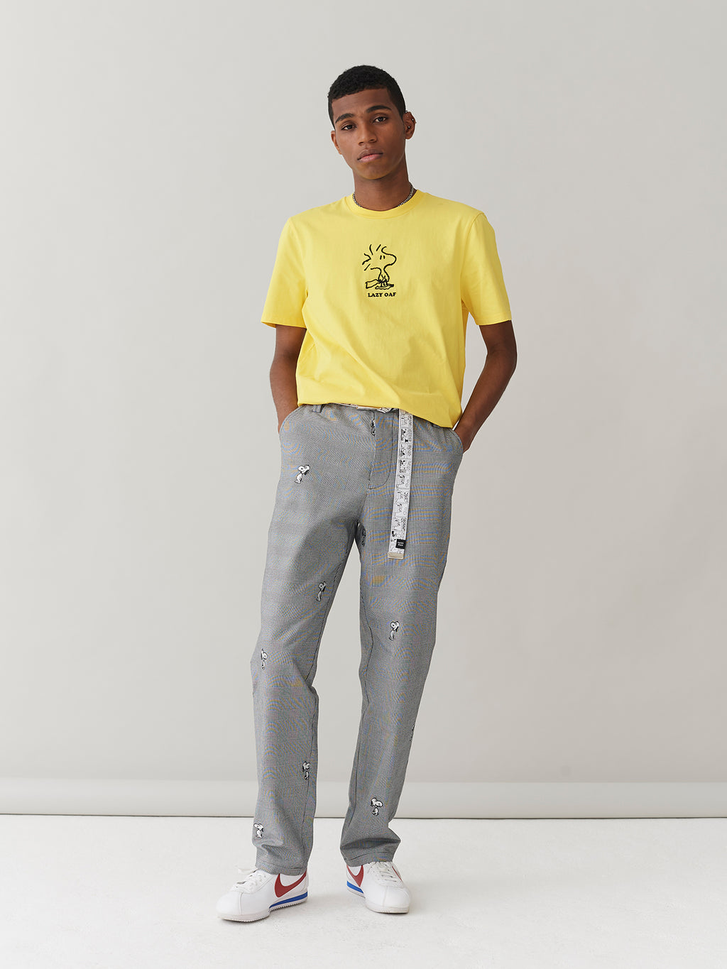 Lazy Oaf x Peanuts Snoopy Repeat Work Pants