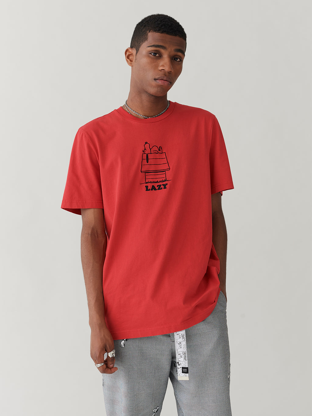 Lazy Oaf x Peanuts Red Dog House T-Shirt