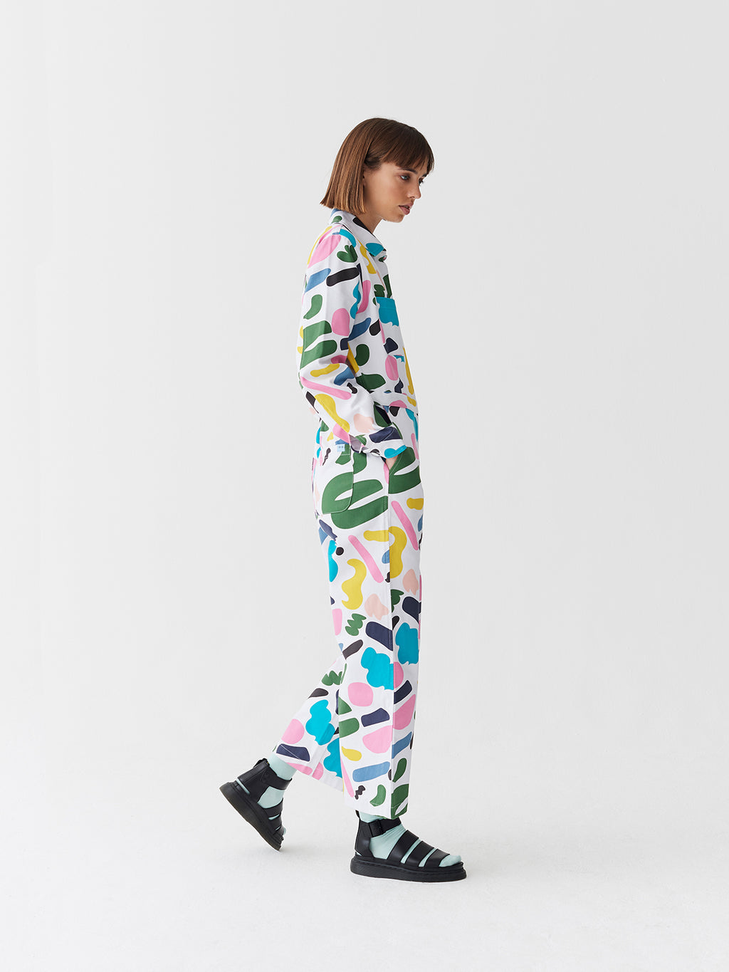 Lazy Oaf x Studio Arhoj Rue Print Boilersuit