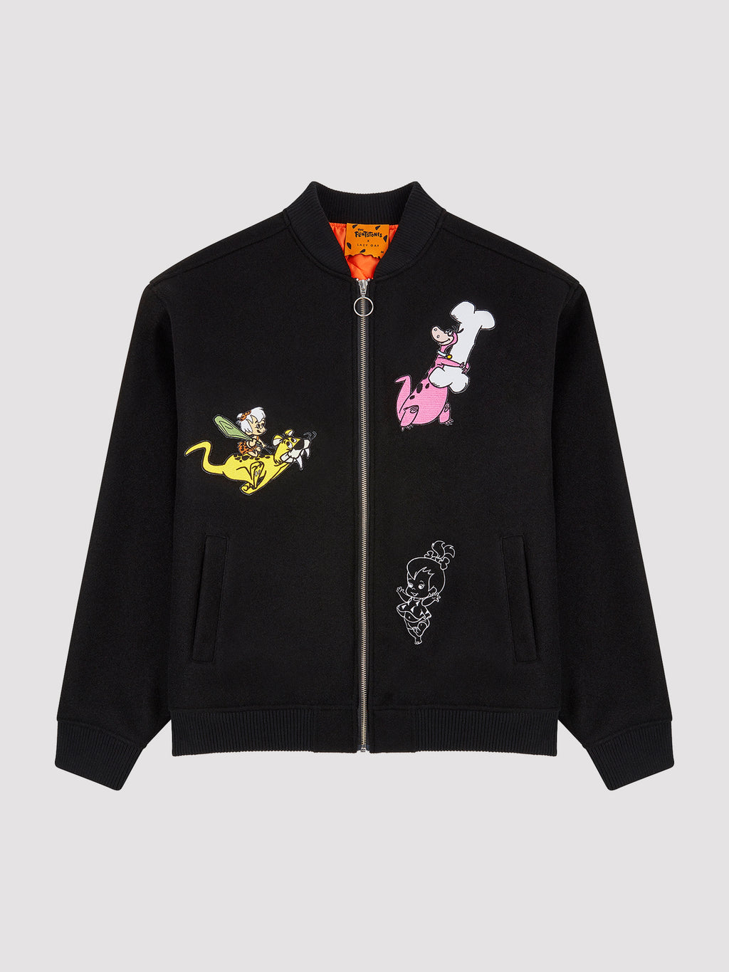 Lazy Oaf x The Flintstones Character Bomber Jacket