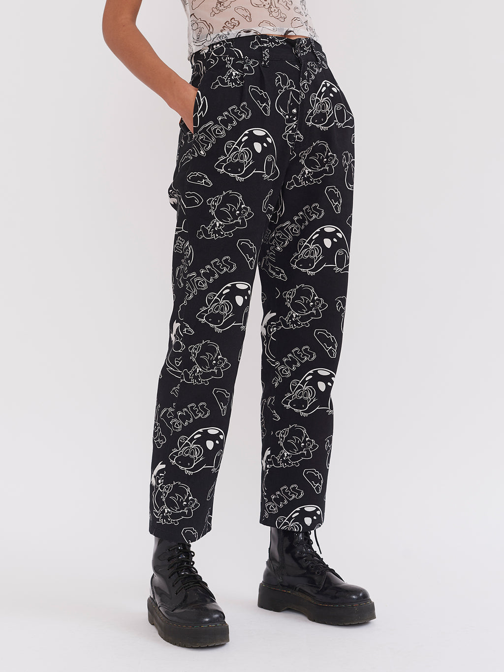 Lazy Oaf x The Flintstones Unisex Character Pants