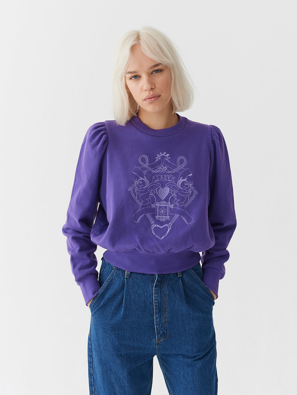 Lazy Oaf Land Of Lazy Sweatshirt