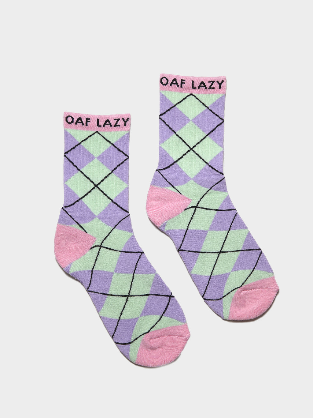Lazy Oaf Lazy Argyle Socks