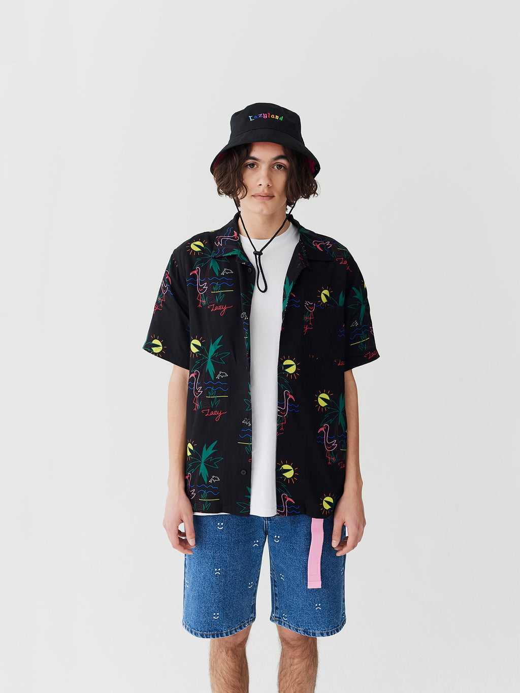 Lazy Oaf Lazy Days Hawaiian Shirt