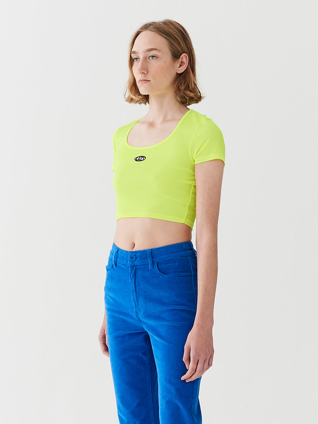 Lazy Oaf Lazy Neon Fitted Tee