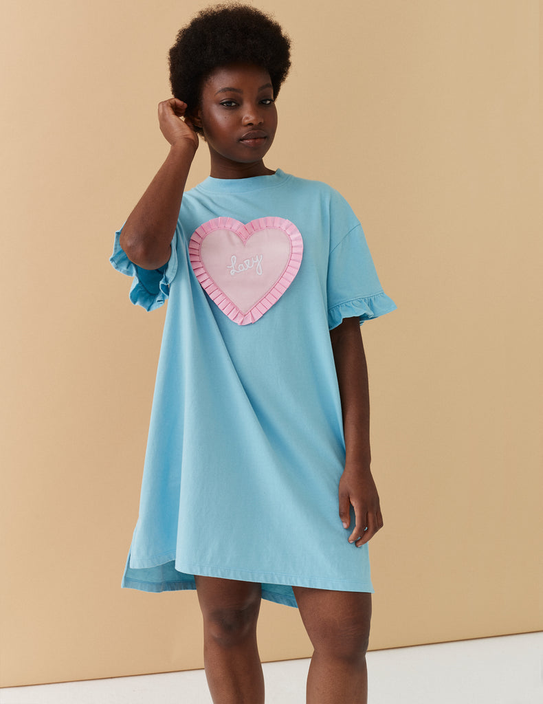 Lazy Oaf Lazy Blue Sleep Tee by Lazy Oaf