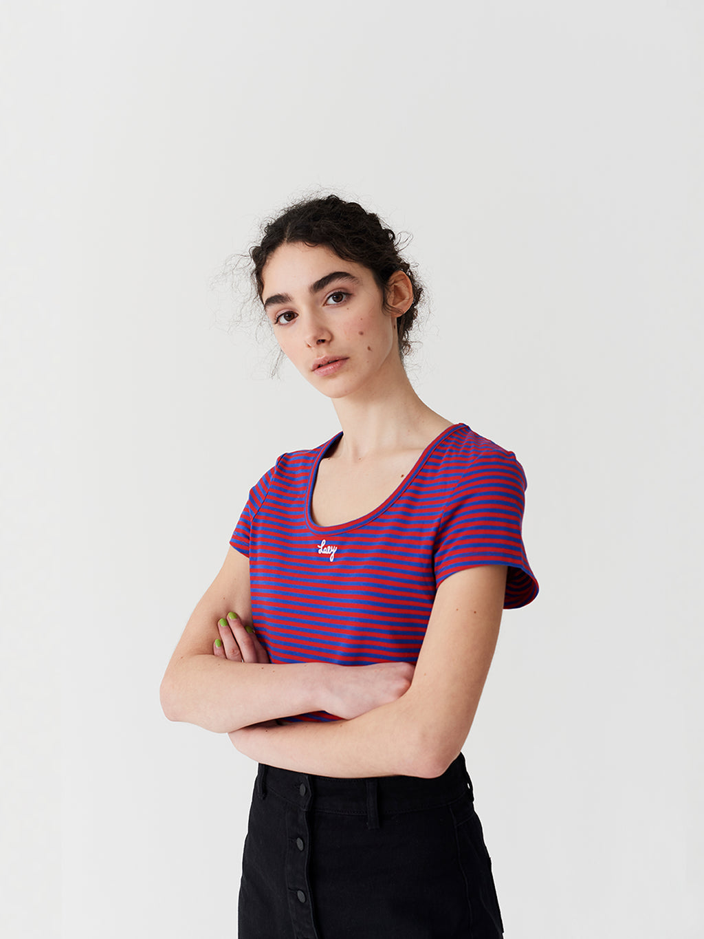 Lazy Oaf Lazy Stripe T-Shirt