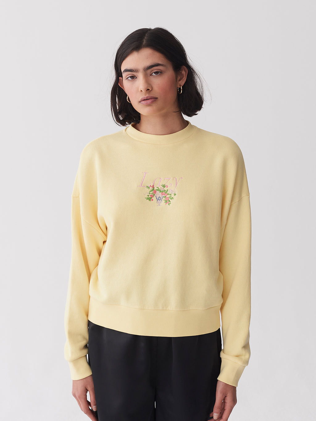 Lazy Oaf Lazy Vase Lemon Sweater