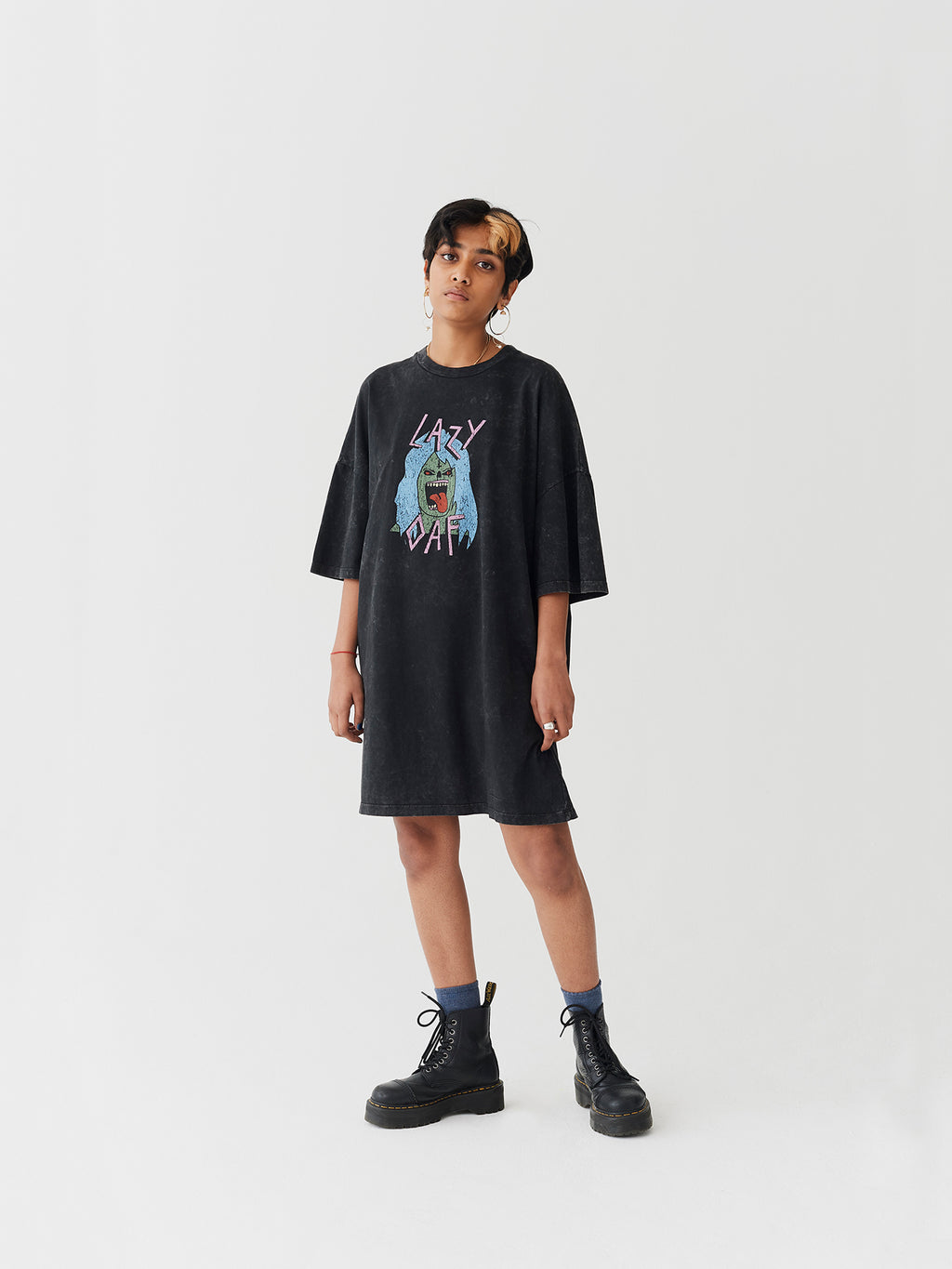 Lazy Oaf Lazy Zombie T-Shirt Dress