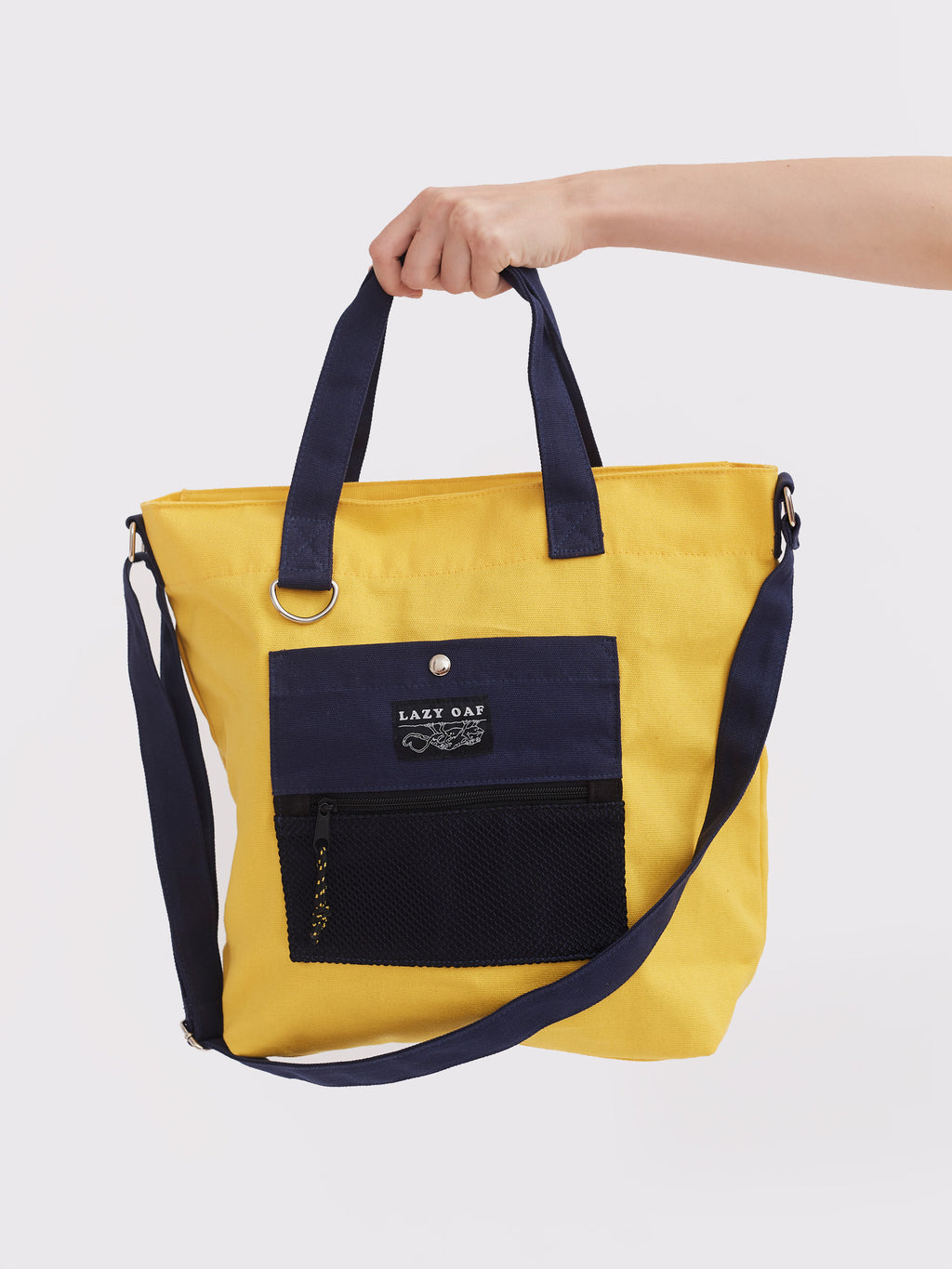 Lazy Oaf Lazy Lizards Shoulder Bag - Yellow