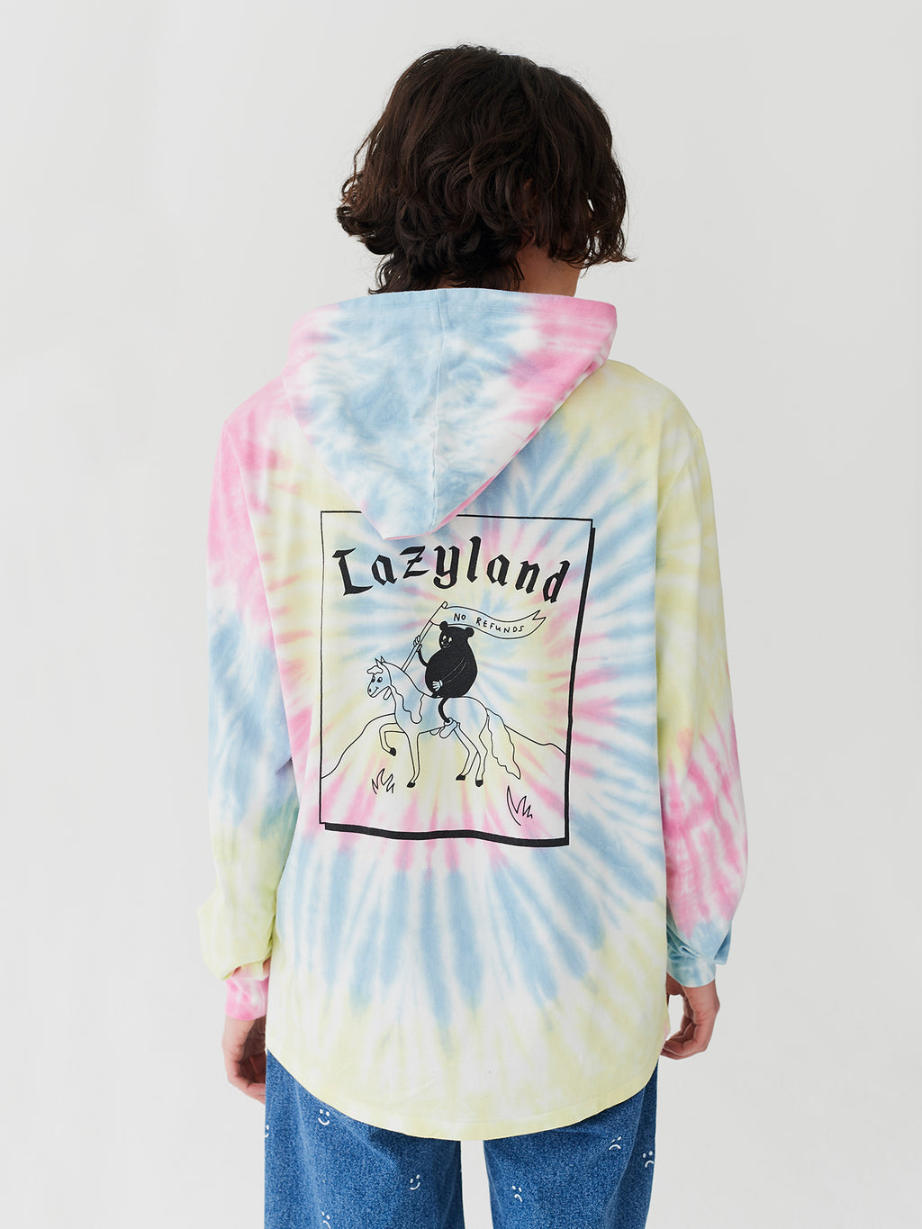 Lazy Oaf Lazyland Tie Dye Long Sleeve T-Shirt
