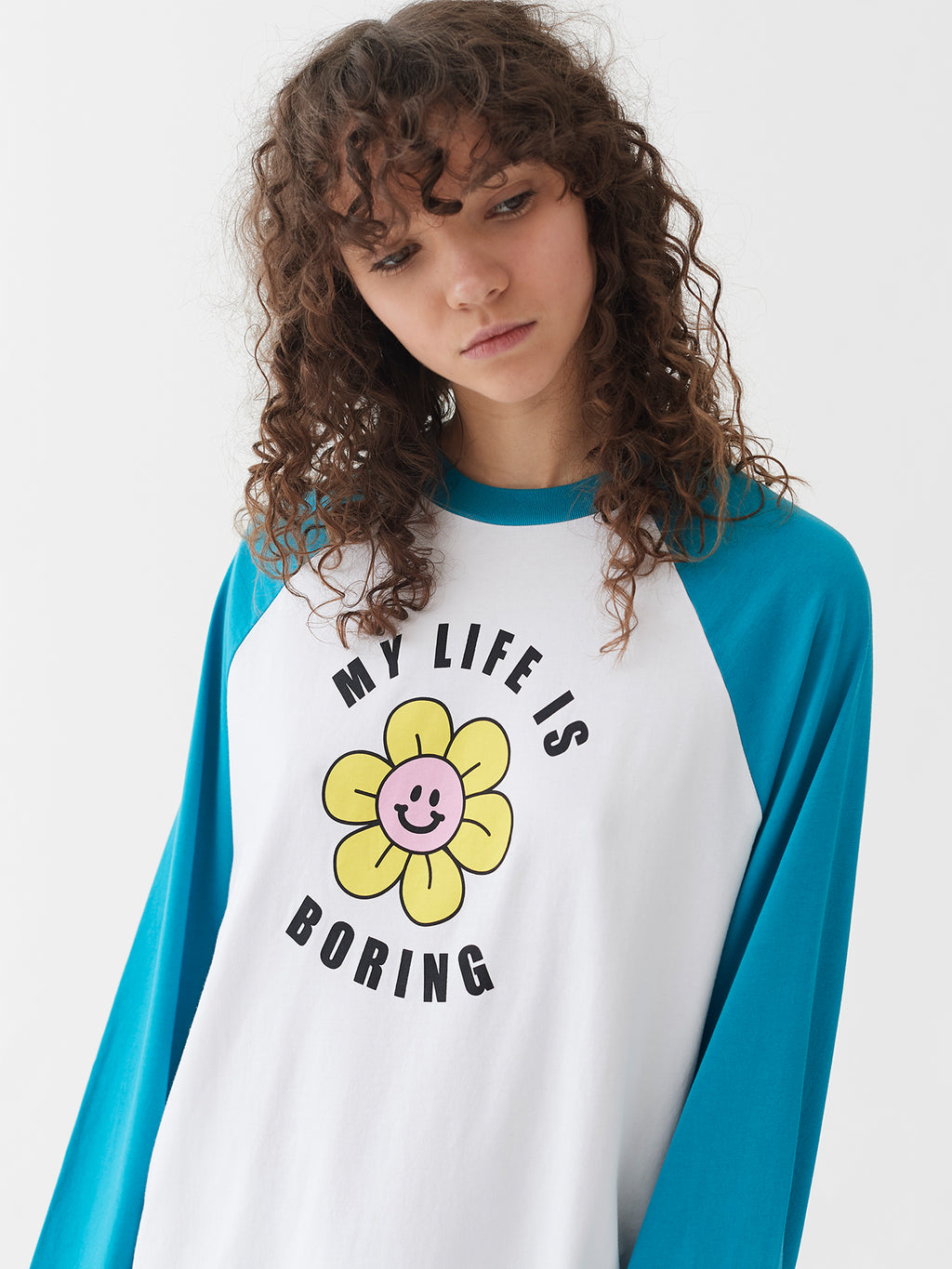 Lazy Oaf Life Is Boring Sleep Tee