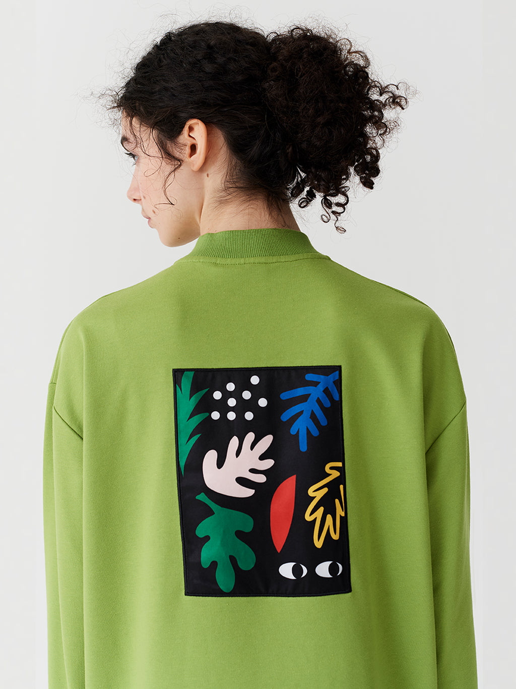 Lazy Oaf Lime Zippy Dress
