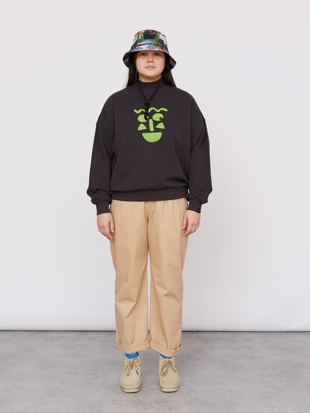 Lazy Oaf Limey Face Sweatshirt