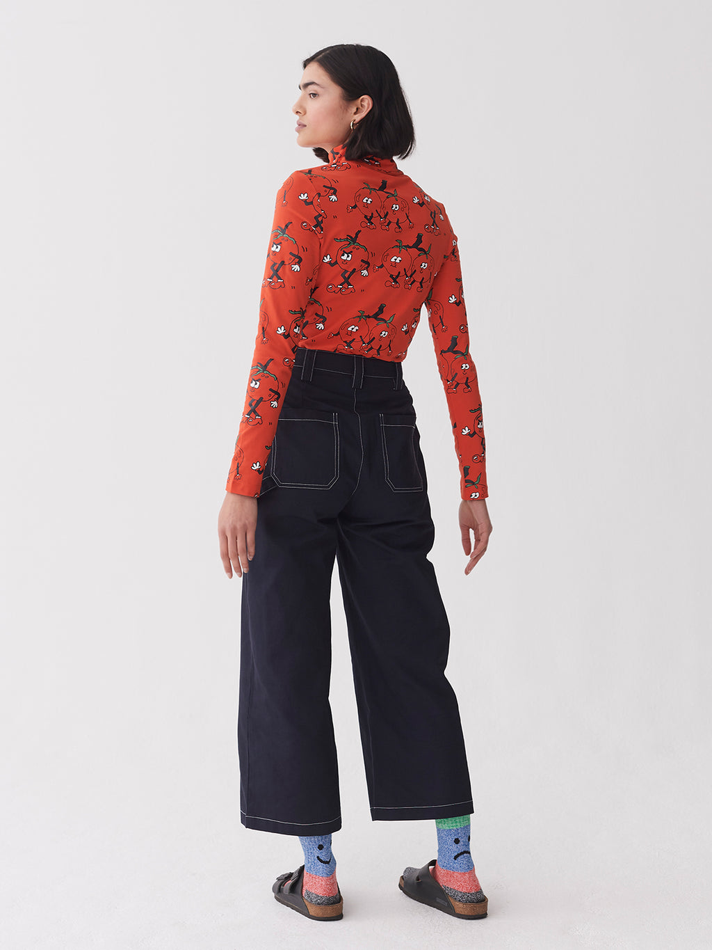 Lazy Oaf Long Sleeve Tomato Tee