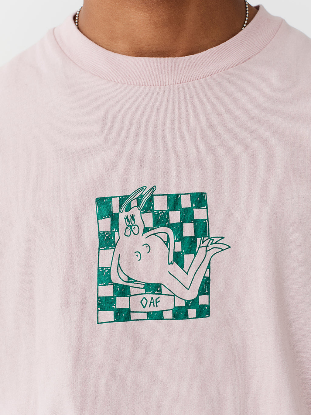 Lazy Oaf Lounging Bunny T-Shirt
