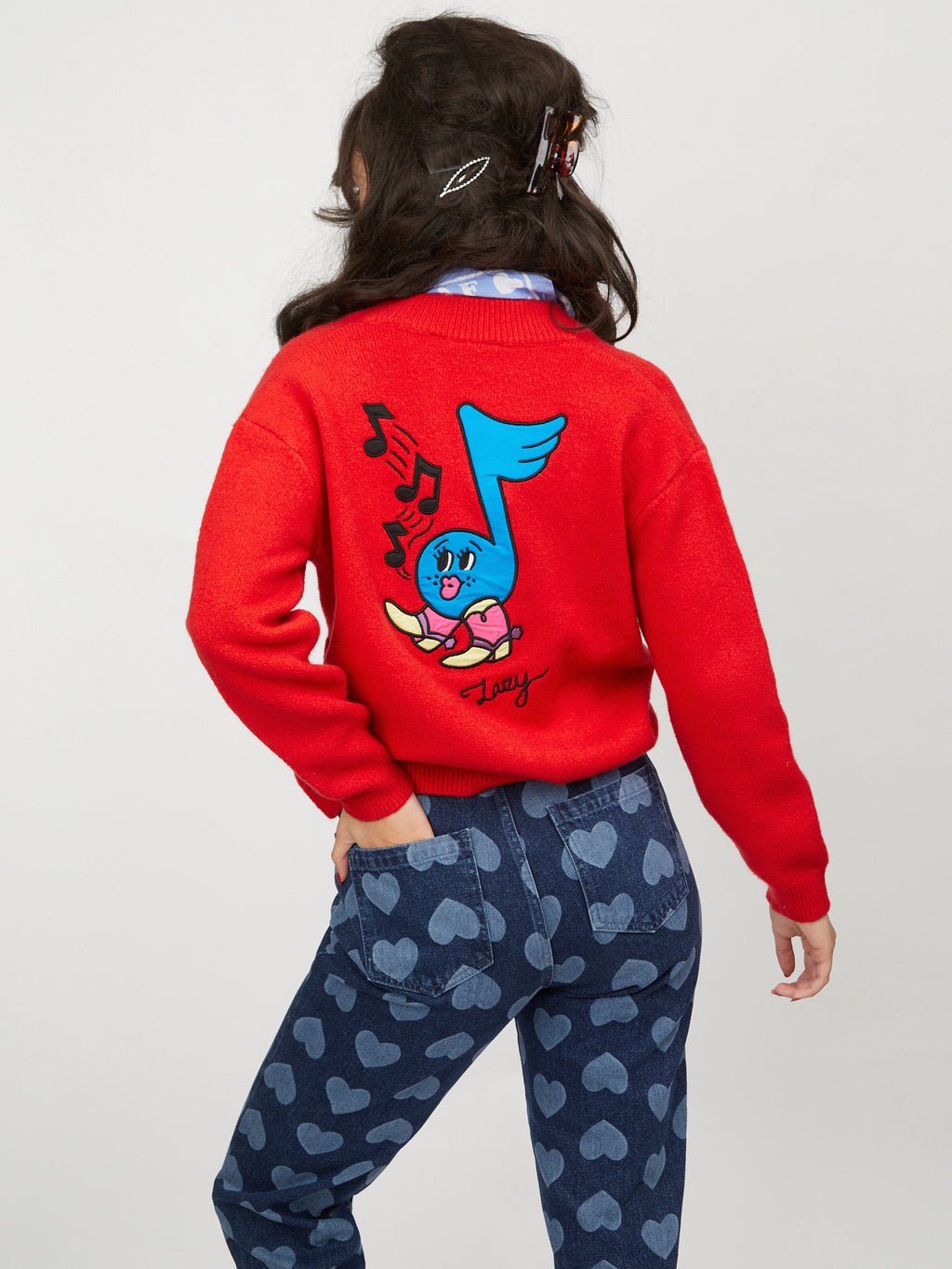 Lazy Oaf Musical Boots Cardigan