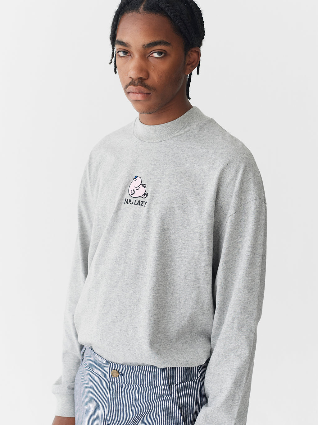 Lazy Oaf x Mr. Men Mr. Lazy Long Sleeve T-Shirt