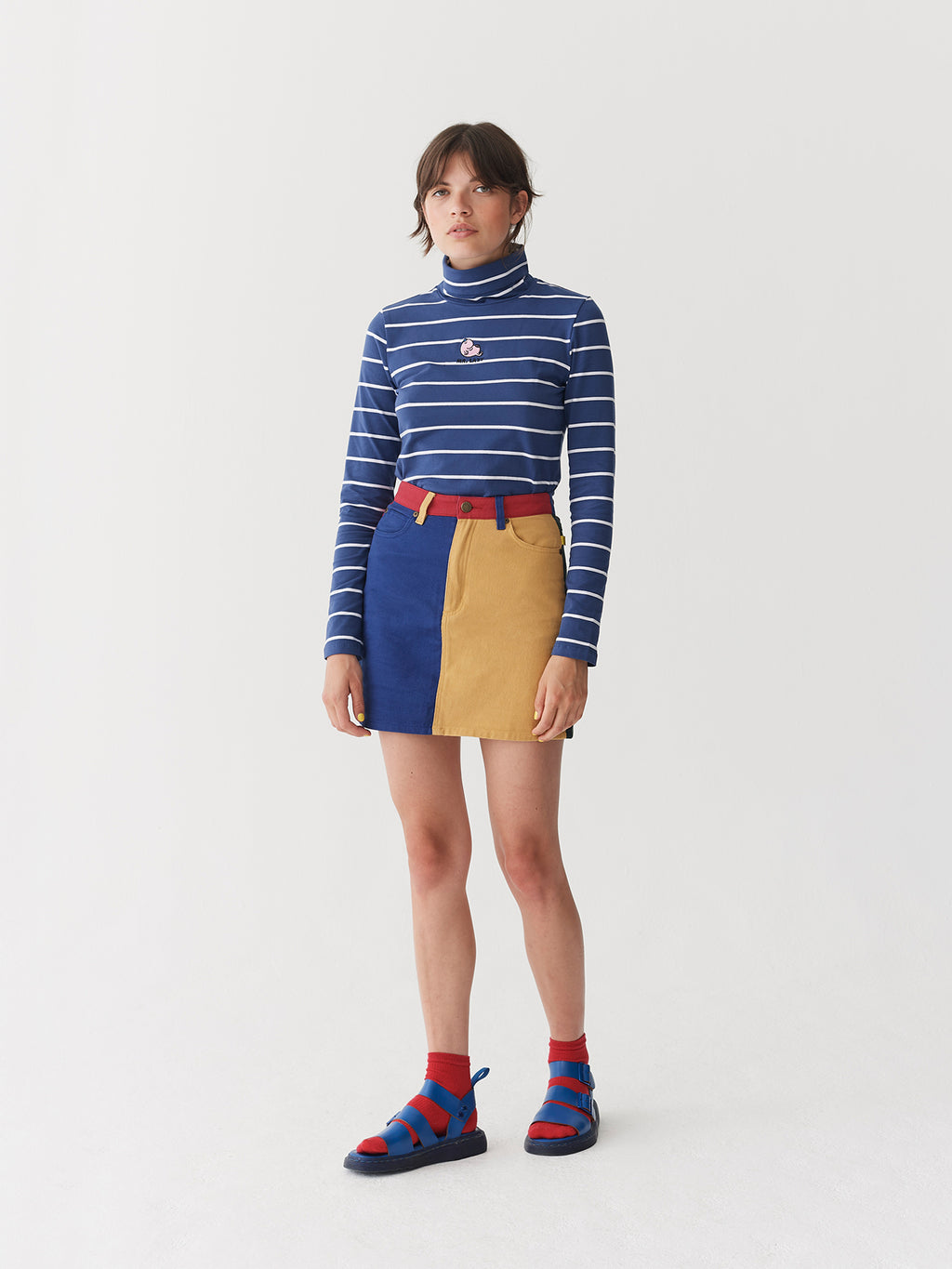 Lazy Oaf x Mr. Men Mr. Lazy Stripy Top