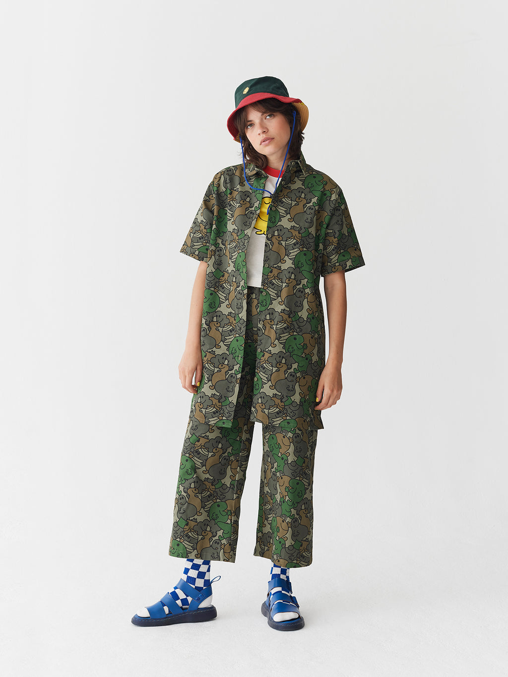 Lazy Oaf x Mr. Men Camo Work Pants